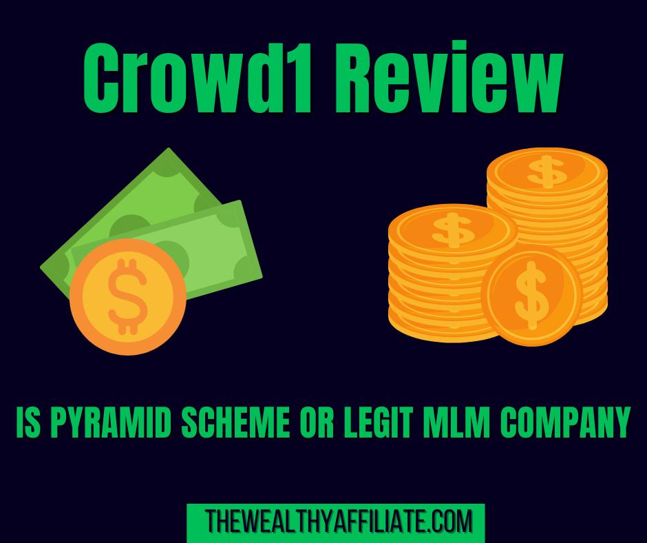 Crowd1 Pyramid Scheme