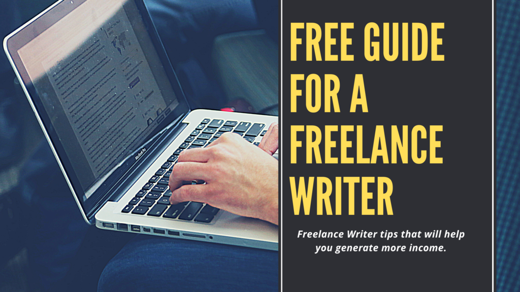 Free Guide For A Freelance Writer In South Africa