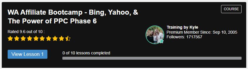 WA Affiliate Bootcamp - Bing, Yahoo, & The Power of PPC
