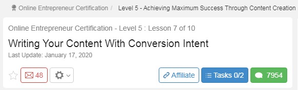 Writing Your Content With Conversion Intent