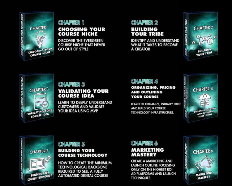 digital course secrets chapters